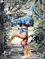 cheap -Women's Medium Print Legging Blue