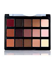abordables -15 colores paleta de sombra de ojos desnuda marca profesional ojo maquillaje smokey kit de sombra de ojos