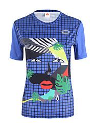 cheap -Women's Running T-Shirt Short Sleeves Lightweight Sweatshirt Top for Running/Jogging Mountain Cycling Recreational Cycling Cycling
