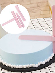cheap -Adjustable Fondant Cake Scraper Icing Piping Cream Spatula Edges Smoother