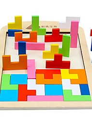 cheap -Tetris Building Blocks Classic Flat Shape Focus Toy Still Life Toy Gift