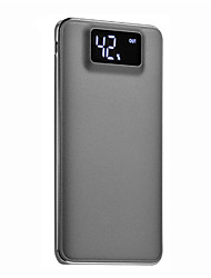 cheap -10000mAh power bank external battery 5 Battery Charger Flashlight Multi-Output QC 2.0 Super Slim LCD