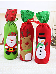 cheap -1pc Santa Leisure Storage Bag Sleeve Holiday, Holiday Decorations Holiday Ornaments