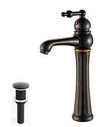 cheap -Faucet Set - Widespread Oil-rubbed Bronze Vessel One Hole