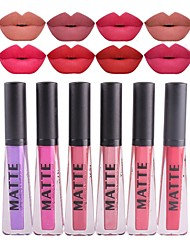 cheap -Lip Gloss Lipstick Wet Shimmer Mineral Waterproof Cosmetic Beauty Care Makeup for Face
