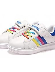 abordables -Garçon Chaussures Gomme Automne Hiver Confort Basket Lacet Pour Blanc Blanc et vert Bleu royal