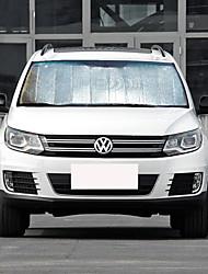 abordables -Automotor Parasoles y visores para coche Viseras del coche Para Volkswagen 2010 2011 2012 2013 2014 2015 2016 2017 Tiguan Aluminio