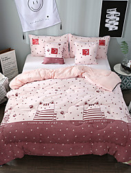 cheap -Comfortable 1pc Quilt, Hand-made Polyester Hand-made Polyester Reactive Print Cartoon