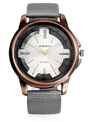 cheap -JUBAOLI Men's Wrist watch Fashion Watch Chinese Quartz Casual Watch Metal Pearl Band Vintage Casual Cool Black Khaki