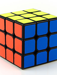 cheap -Rubik's Cube 3*3*3 Smooth Speed Cube Magic Cube Stress Relievers Educational Toy Puzzle Cube Smooth Sticker Engineering Plastics Square