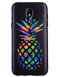 economico -Custodia Per Samsung Galaxy Fantasia/disegno Custodia posteriore Frutta Morbido Silicone per J7 (2017) J5 (2016) J5 (2017) J3 J3 (2016)