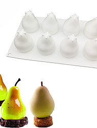 cheap -Pear Shape Silicone Molds Bakeware French Dessert Mousse Cake Mold Baking Decorating Tools
