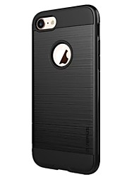 economico -Custodia Per iPhone X iPhone 8 Resistente agli urti Custodia posteriore Tinta unica Resistente PC per iPhone X iPhone 8 Plus iPhone 8