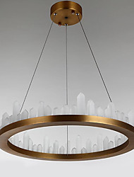 cheap -Modern/Comtemporary LED Chic & Modern Pendant Light For Indoors Bedroom Study Room/Office AC 110-120 AC 220-240V Bulb Included