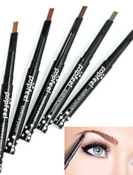 cheap -1PCS Popfeel Rotary Design Lasting Waterproof Eyebrow Pencil Eye Brow Liner Eyeliner Pen Powder Shaper