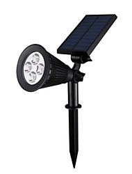 SPLV10 Solar Spotlight Home Courtyard Sensor Lights to Insert the Landscape Lights