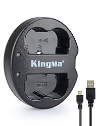Kingma Dual USB Charger for Canon BP-511 BP-511A and Canon EOS 5D 10D 20D 30D 40D 50D Digital Rebel 1D D60 300D D30 Kiss Powershot G5 Pro 1 G2 G3 G6