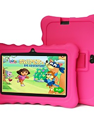 abordables -7 pouces tablette android enfants (Android 4.4 1024 * 600 quad core 1gb ram 8gb rom)