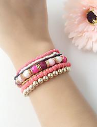 cheap -Women's Chain Bracelet - Bracelet Blue / Pink / Light Blue For Wedding / Party