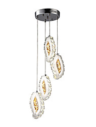LED Chic & Modern Chandelier For Indoors Bedroom Dining Room AC 220-240 AC 110-120V Bulb Included