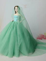 cheap -Dresses Dresses For Barbie Doll Dresses For Girl's Doll Toy