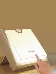 2шт светодиодный свет книги 5V теплый белый / белый 1,5 Вт батареи (aaa) без батареи
