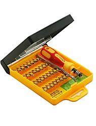 Недорогие -32-дюймовый прецизионный комплект отверток с рукояткой пинцета&шестнадцатеричные биты torx&многофункциональная отвертка