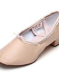 "cheap -Women's Jazz Leatherette Practice Chunky Heel Blushing Pink 1"" - 1 3/4"" Customizable"