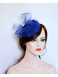 cheap -Flannelette Net Fascinators Hats 1 Wedding Party / Evening Headpiece