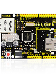baratos -Keyestudio w5100 ethernet shield para arduino uno r3 mega 2560