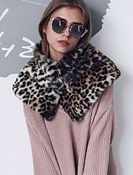 All Faux Fur Infinity Scarf Solid Spring/Fall Winter