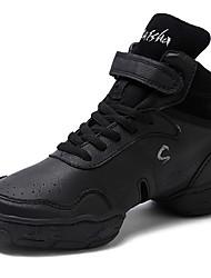 economico -Da uomo Sneakers da danza moderna Pelle Mezzepunte Quotidiano Tacco su misura Nero Personalizzabile