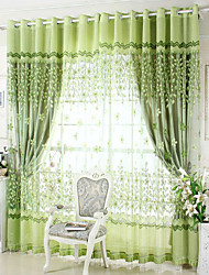 Curtain Glam , Embroidery Living Room Material Blackout Curtains Drapes Home Decoration For Window