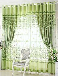 Trattamento finestra Glamour , Ricamato Salotto Materiale Blackout tende tende Decorazioni per la casa For Finestra