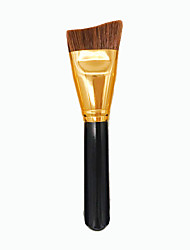 cheap Others Brushes-1pcs Contour Brush Foundation Brush Synthetic Hair Professional Eco-friendly Portable Wood Face Others
