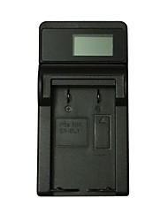 Cargador de batería de la cámara del usb de ismartdigi el1 lcd para la batería de nikon el1 en-el1