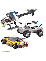 cheap -Building Blocks Military / Tank / Fighter Aircraft Military Vehicle / Helicopter Boys' Gift