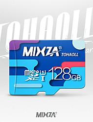 scheda microSD della scheda di memoria di mixza scheda di deviazione standard 128gb class10 micro sd per smartphone / tablet