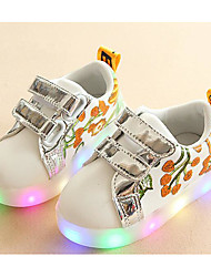 cheap -Girls' Shoes PU Fall Winter Comfort Sneakers For Casual Blushing Pink Black Gold