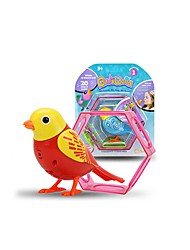 cheap -Electronic Pets Bird Singing Talking with Sound Sensor Holiday New Design Rubber Kid's Adults' Gift