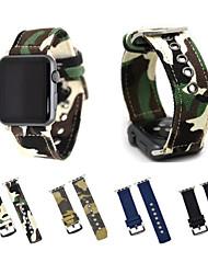 economico -per la vigilanza della mela iwatch serie 3 2 1 tela increspa la cinghia del braccialetto con l'adattatore del metallo