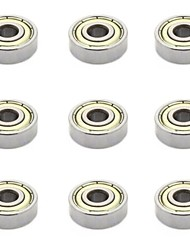cheap -3D Printer Accessories Miniature Bearing 608ZZ 9Pcs