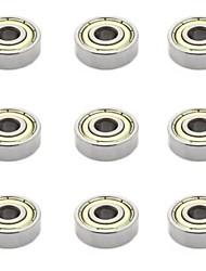 Недорогие -Аксессуары для принтера 3d миниатюрный подшипник 608zz 9шт.