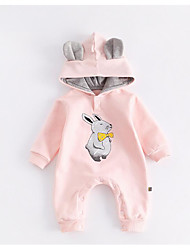 cheap -Baby Animal One-Pieces,100%Cotton Winter Fall Blushing Pink Yellow Light Green