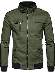 cheap -Men's Jacket - Solid Stand