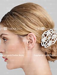 Недорогие -горный хрусталь зажим для волос головной убор классический женский стиль