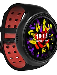 economico -Intelligente Guarda JSBPZ10 per Android 3G 2G GPS Impermeabile Monitoraggio frequenza cardiaca Schermo touch Calorie bruciate Timer Cronometro Pedometro Localizzatore di attività / Standby lungo