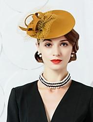 abordables -Laine Tulle Coiffure Chapeau Casque