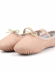 cheap -Women's Kids' Ballet Pigskin Full Sole Indoor Pink Customizable