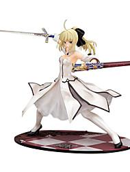 economico -Figure Anime Azione Ispirato da Fate/stay night Saber 23 CM Giocattoli di modello Bambola giocattolo